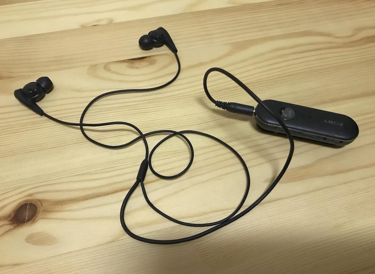 カナル型の無線(ブルートゥース)イヤホンを使う