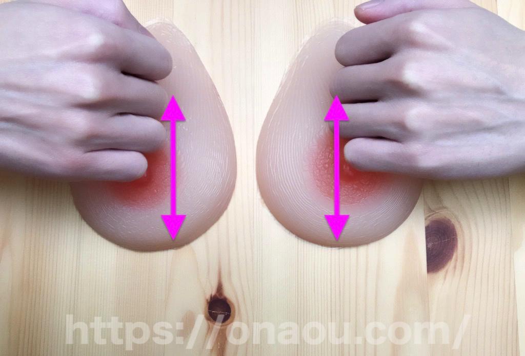 手の甲側の指で洗濯板のような乳首オナニー